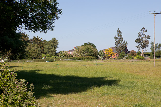 Field with Chapel House beyond, Kingston
