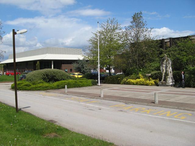 Entrance plaza, BGS