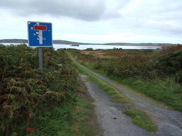 Track to Loch Gorm