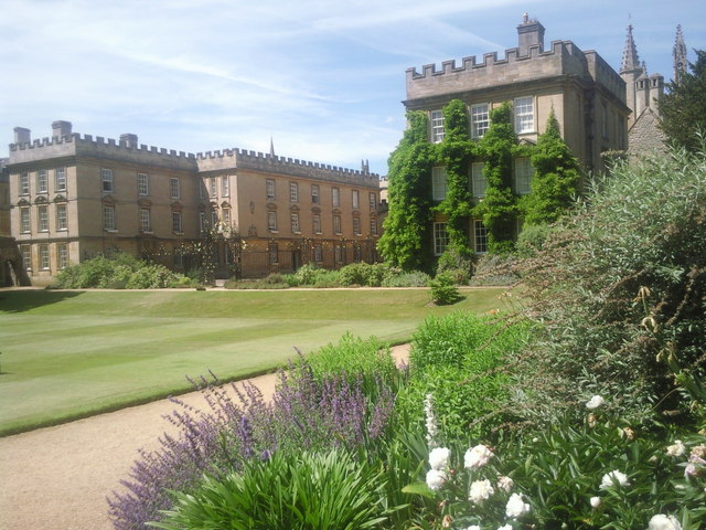 New College, Oxford - the gardens