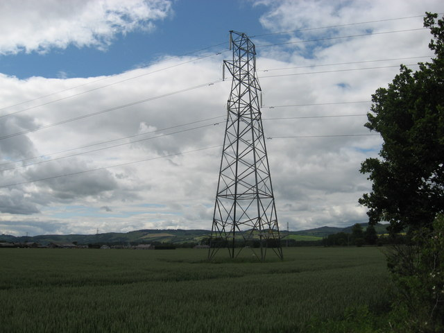 Pylon in the Carse of Gowrie