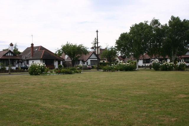Branscombe Square, Thorpe Bay (NW corner)