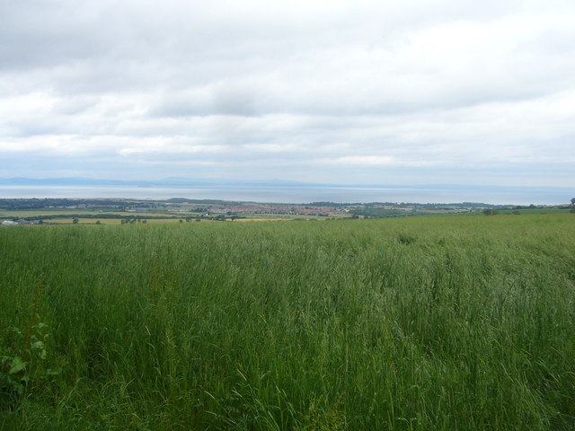 View from Queen Mary's Mount on Carberry Hill