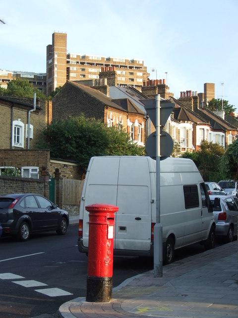 Street corner in East Dulwich