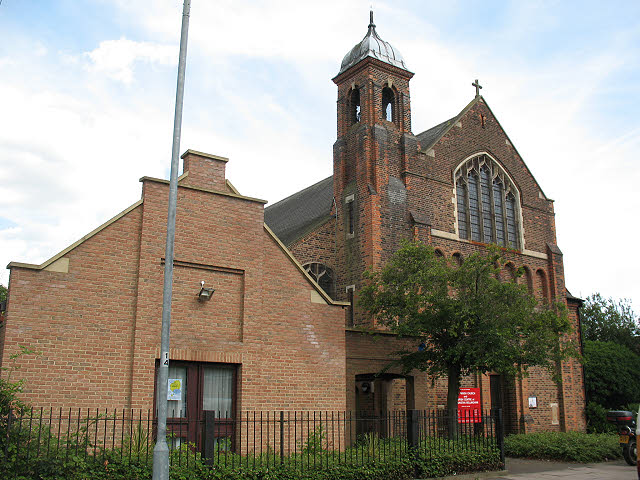 St Dunstan's church and hall