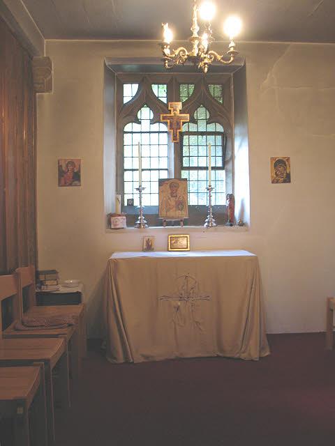 St Dunstan's: rear chapel