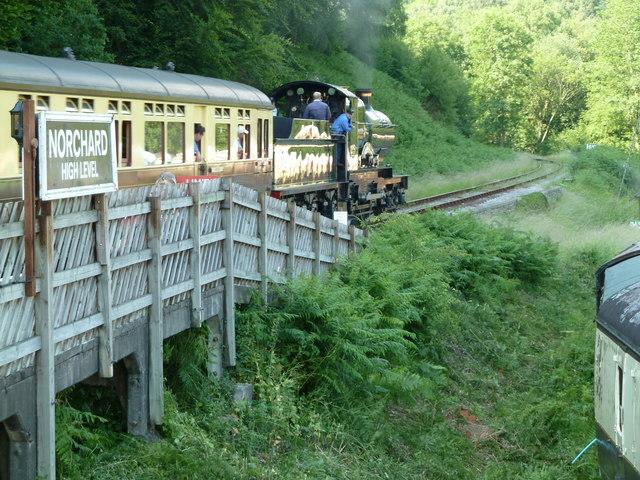 Norchard High Level Station, Dean Forest Railway