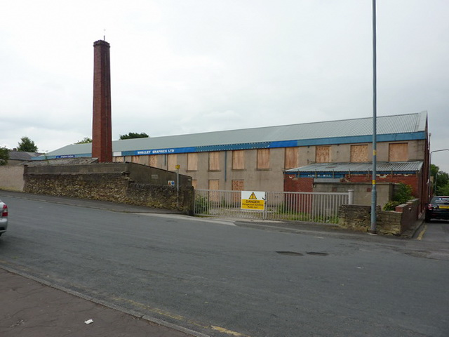 Albion Mill, Water Street, Great Harwood
