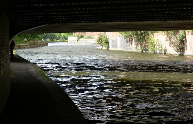 Beneath St Augustine Road Bridge