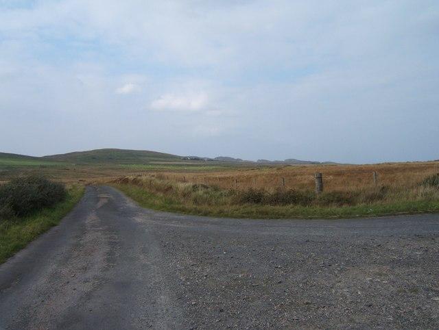 Road to Ballinaby and Saligo