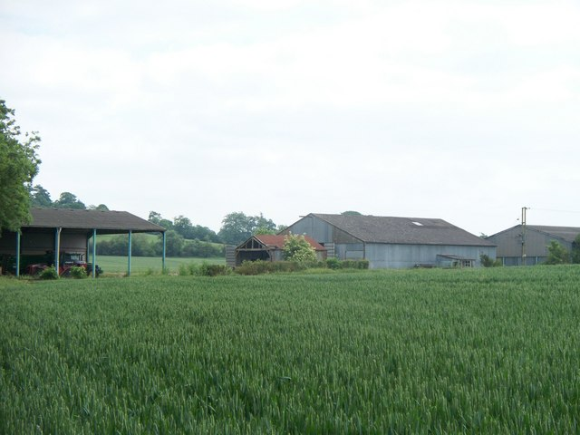Outlying farm buildings