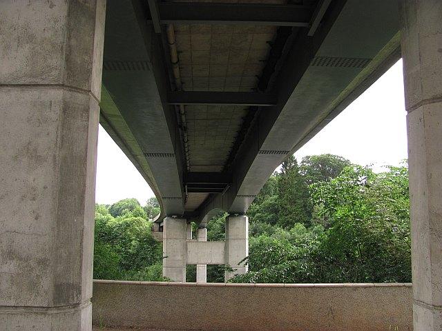 The new Drygrange Bridge