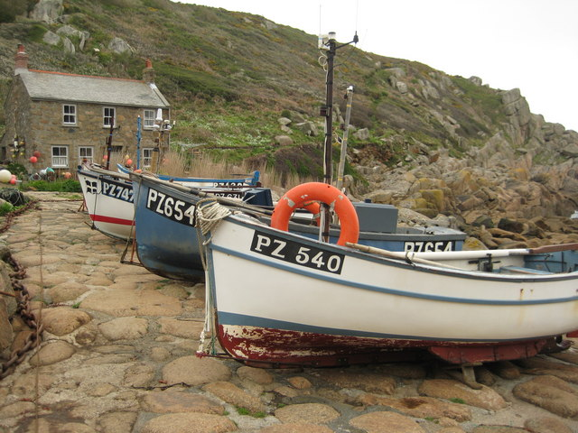 Fishing Boats, Penberth Cove