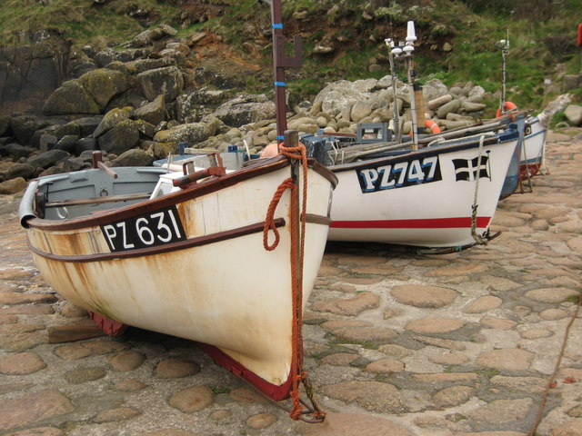Fishing Boats, Penberth Cove