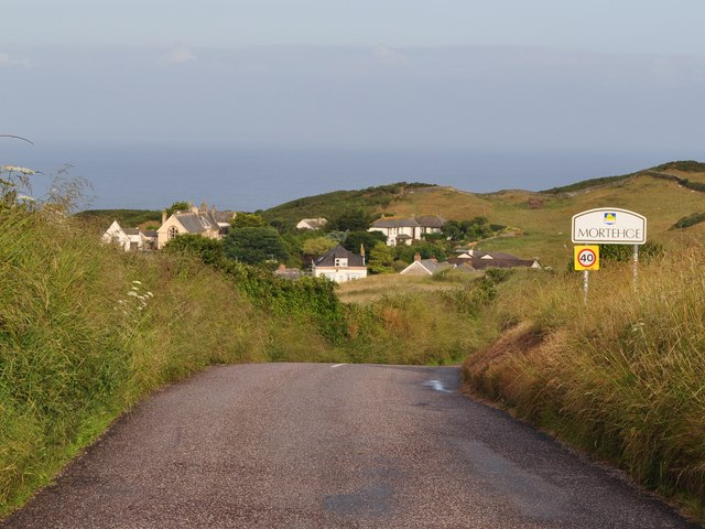 Approaching Mortehoe on Station Road