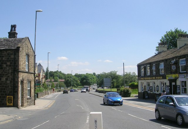 Leeds Road - viewed from Otley Road