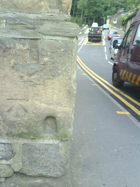 View along Millgate, Bingley