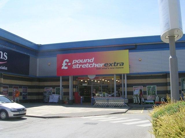 £ pound stretcher extra - West Side Retail Park