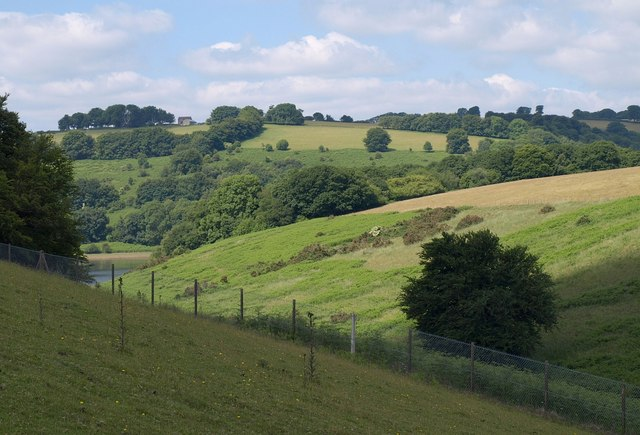 Valley by Clatworthy Reservoir