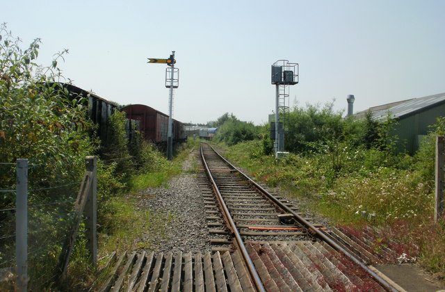 Looking towards Lydney Junction from the A48