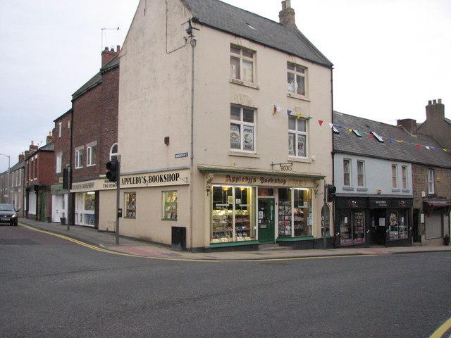 Appleby's Bookshop, Morpeth