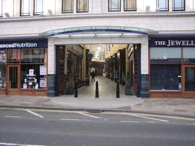 Sanderson Arcade, Morpeth