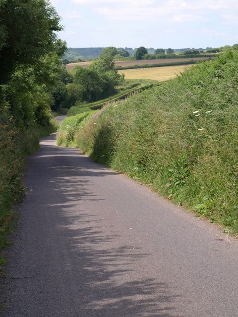 Lane from Forche's Cross
