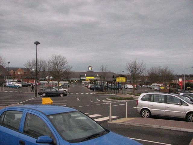 Morrisons car-park, Morpeth
