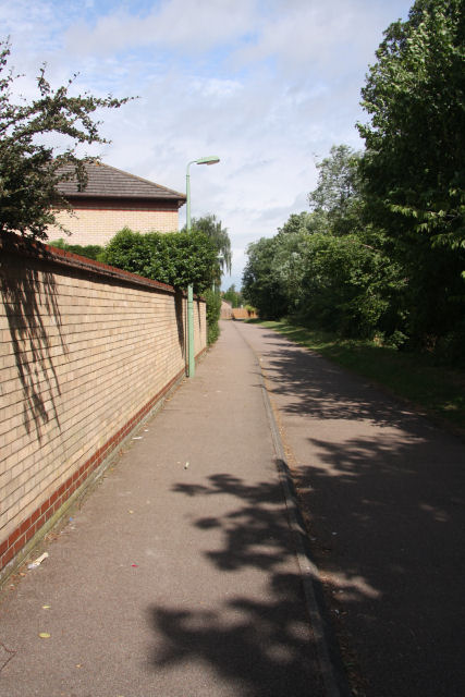 Footpath and cycle route