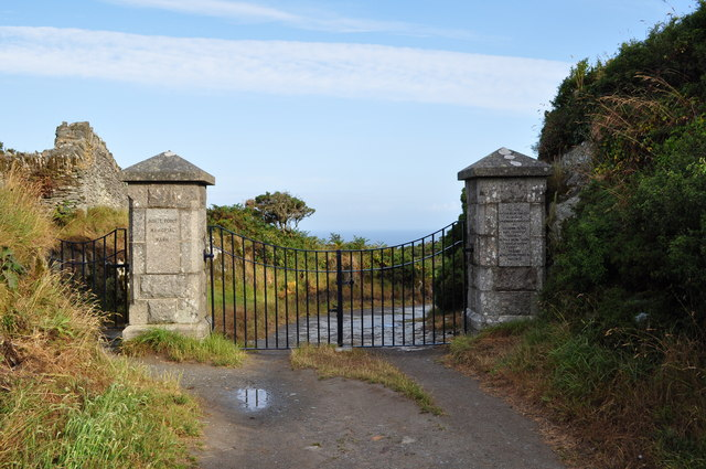 The entrance to Morte Point Memorial Park
