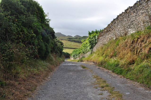 The track from Morte Point Memorial Park to Mortehoe