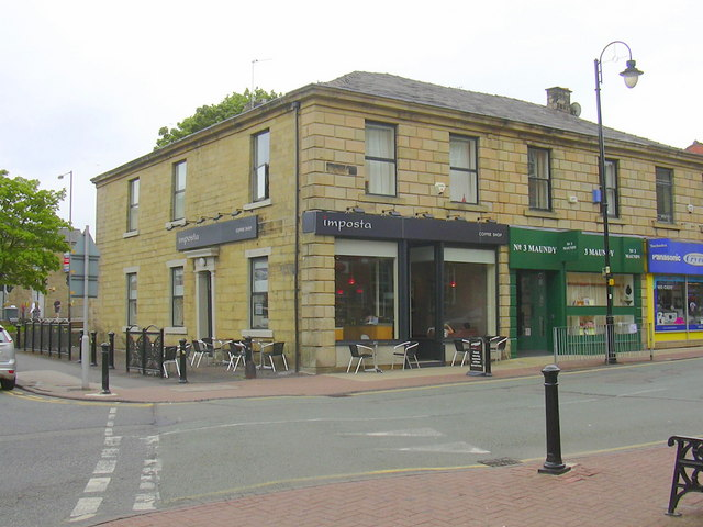 """Imposta Coffee Shop"" 1, Abbey St, Accrington, Lancashire BB5 1EN"