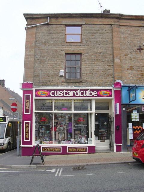 """Custard Cube Music"" 28 Blackburn Road, Accrington, Lancashire, BB5 1HD"