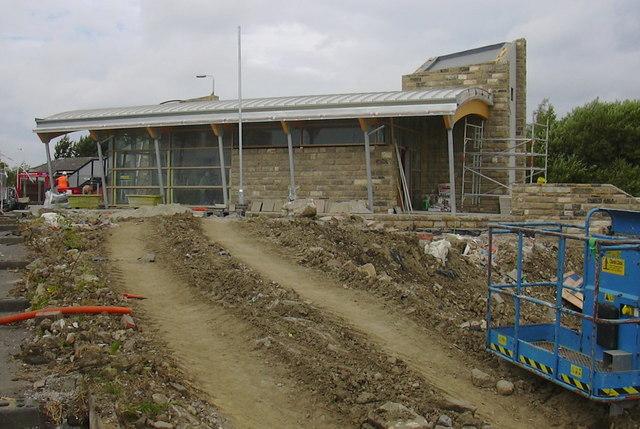 New Accrington Railway Station