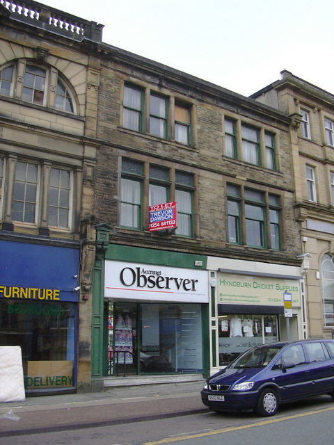 """Accrington Observer"" Blackburn Road, Accrington"