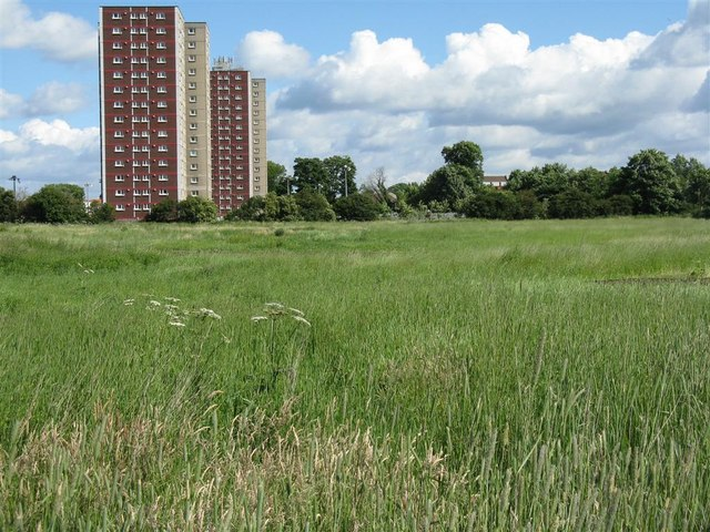 Open space at Niddrie