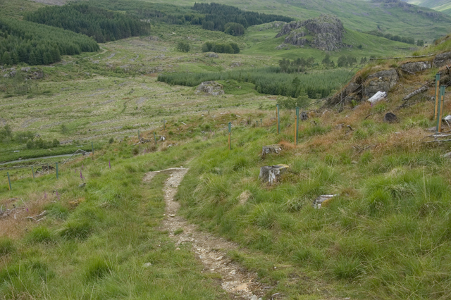 Footpath over Pike How