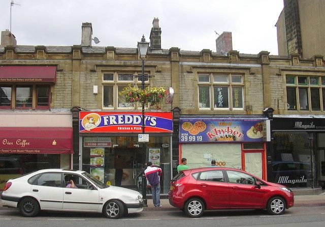 """""""Freddy's Chicken & Pizza"""" 68, Blackburn Rd, Accrington, Lancashire BB5 1LE"""