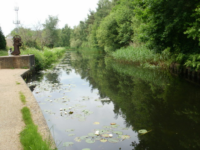 Basingstoke Canal near to Monument Bridge