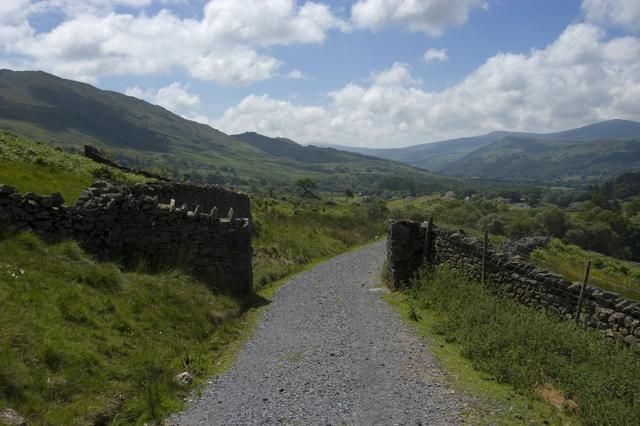 Seathwaite Tarn access road