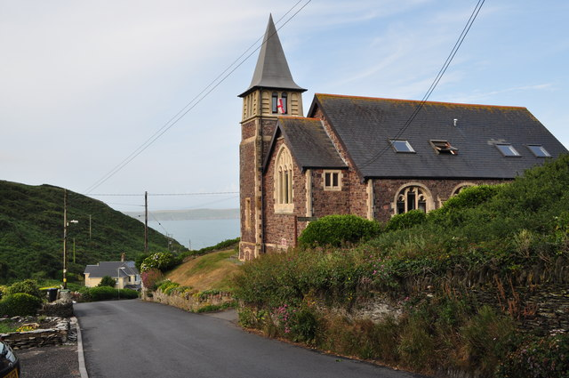 The Old Chapel on Mortehoe Station Road