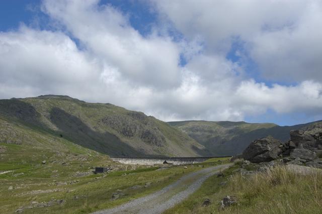 Access road to Seathwaite tarn