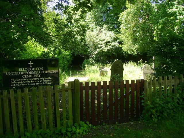 Sunlit  Cemetery