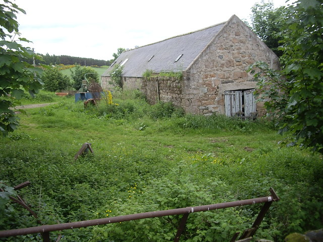 A steading at The Glack, Migvie