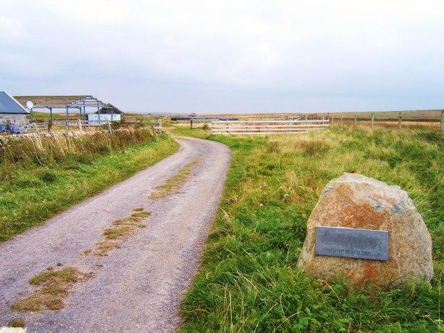 Path marker, Sanaigmore