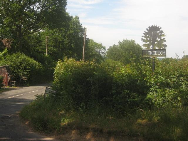 Markbeech Village Sign