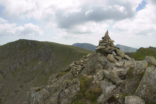 Cairn on Great Carrs