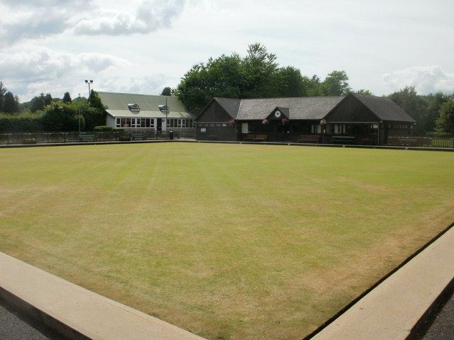 Bowling green, Builth Wells