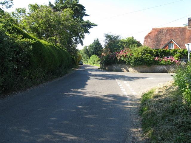 New Road passing through South Ambersham