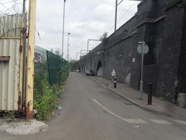 Railway Arches below Cornbrook Metrolink Station